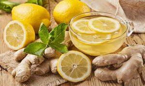 zenzero e limone tisana